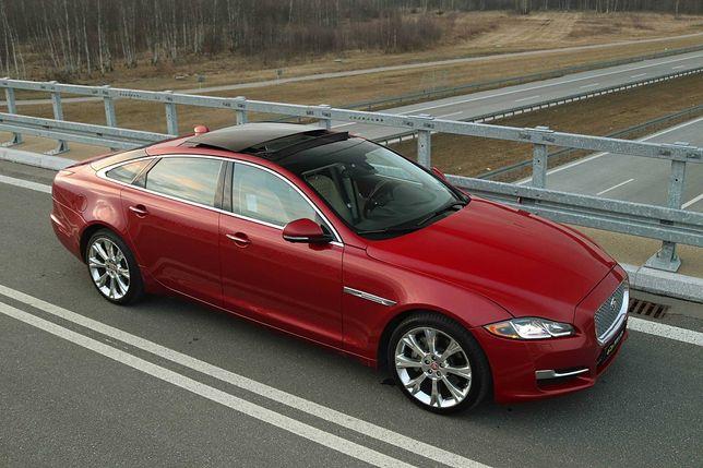 Jaguar XJL wynajem do ślubu / wynajem na sesje zdjęciowe