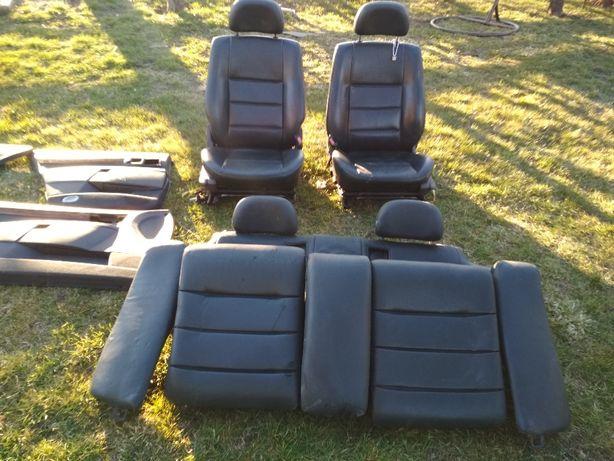 fotele skorzane komplet opel omega b FL