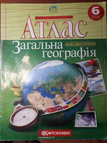 7, 8 клас. Атласи з географії