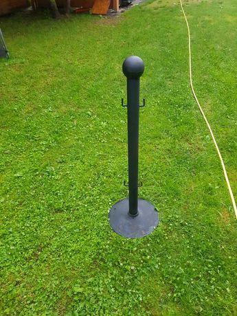 Słupki metalowe  wysokość 112 cm