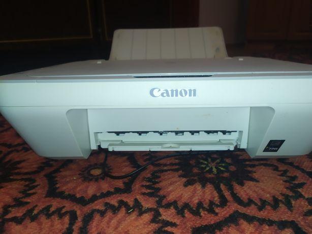 Принтер Canon засохли катреджи