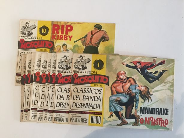 Banda desenhada Enciclopedia O MOSQUITO