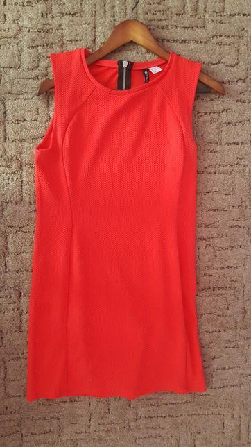 Czerwona sukienka Divided H&M