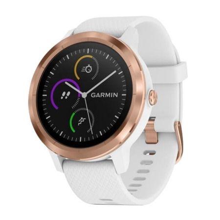 Smartwatch Vivoactive 3 Różowo Złoty Z Białym Paskiem