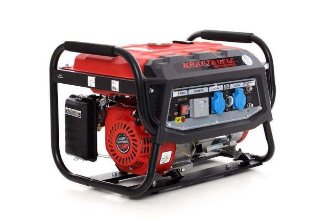 Agregat prądotwórczy generator prądu 230V 7KM benzyna miedziane uzwoje
