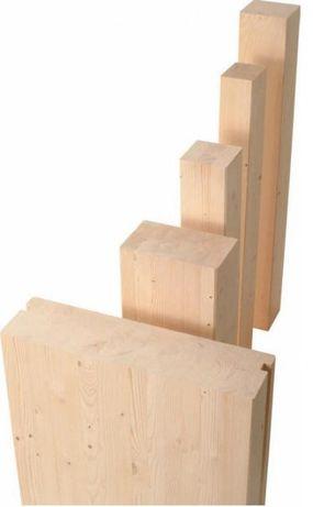 KVH C24 Drewno konstrukcyjne 40x60 WROCŁAW