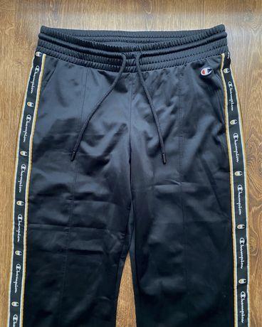 Damskie czarne spodnie CHAMPION, rozmiar S/M