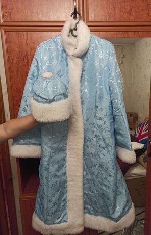 Очень красивый взрослый костюм Снегурочки