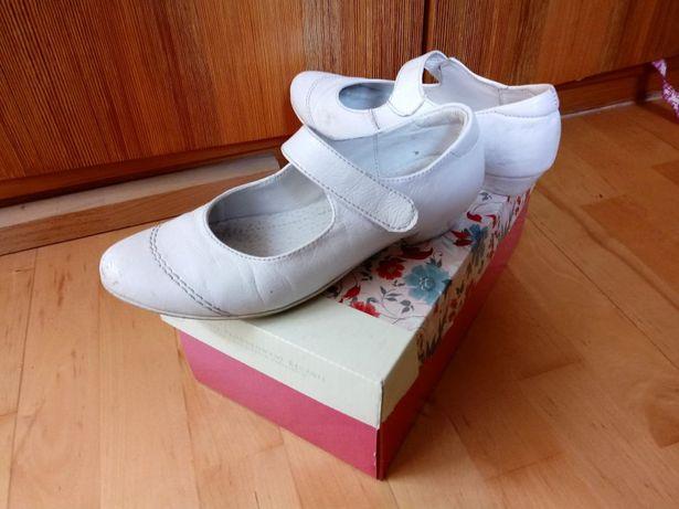 Eleganckie buciki mieekiej skóry dla dziewczynki r.32