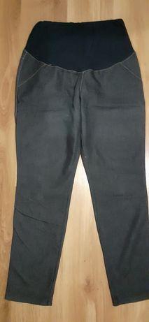 Spodnie ciążowe jeansy lekki jeans 44 rozciagliwe XL
