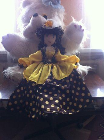 Эксклюзив! Шикарные интерьерные текстильные куклы ручной работы