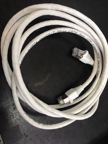 Lote de 100 cabos de rede cat. 6 usados