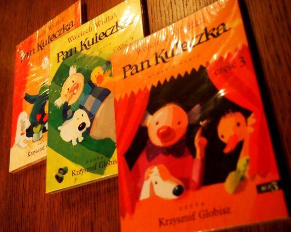 Pan Kuleczka KOMPLET 3 x audiobook CD MP3 bajki dla dzieci czytane HIT