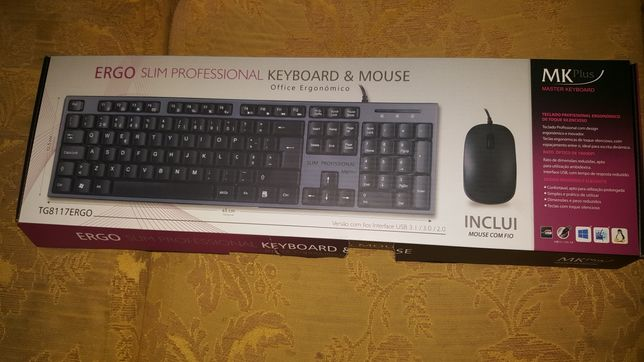 Ergo Salim  professional  keyboard é mouse
