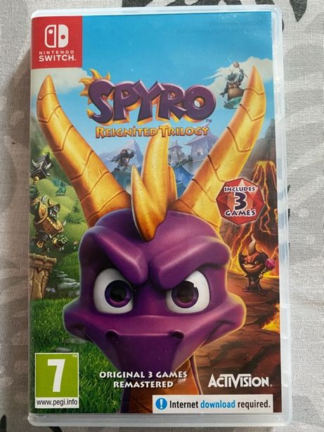 SPYRO Reignited Trilogy Switch PL