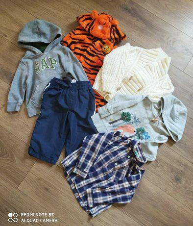 Пакет вещей на мальчика 9-12мес