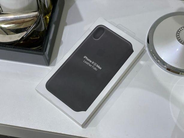 Etui case iphone xs max leather folio
