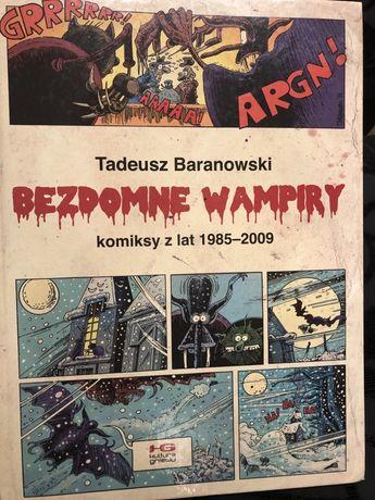 Bezdomne wampiry. Tadeusz Baranowski. Komiks