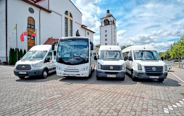 Przewóz osob - 34 osobowy miniautokar , Busy 8 , 18 , 23 , 26 , 60