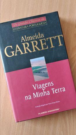 Livro - Viagens na minha terra de Almeida Garrett