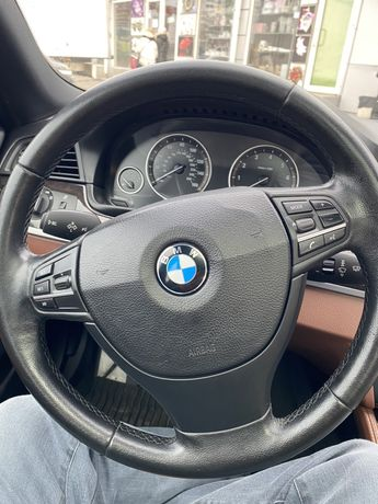 Продам руль бмв ф 10 + airbag