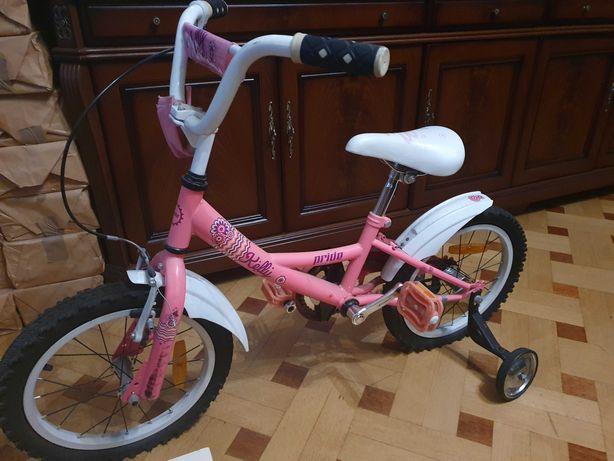 Велосипед для девочки 3-7 лет