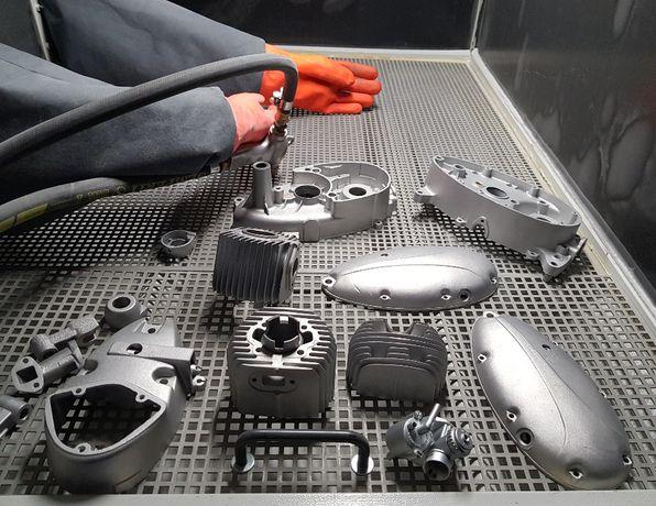 Szkiełkowanie Elementów Aluminiowych, Stal Nierdzewna - Grupa MDK