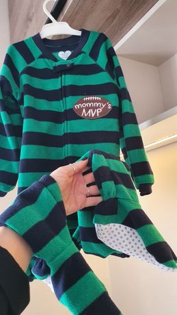 Новая флисовая пижама человечек слип The children's place 4t
