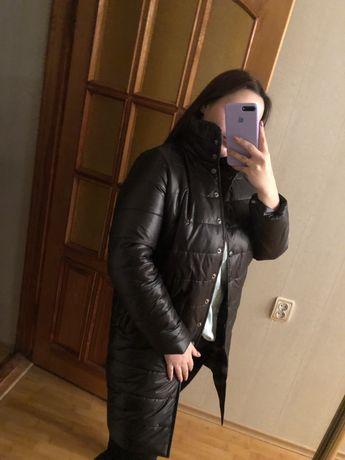 Зимний пуховик пальто новое
