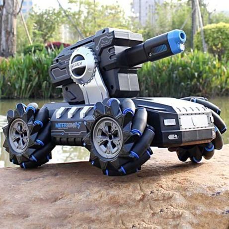 Стреляющий танк перевертыш Mech Chariot 360° с управлением жестами