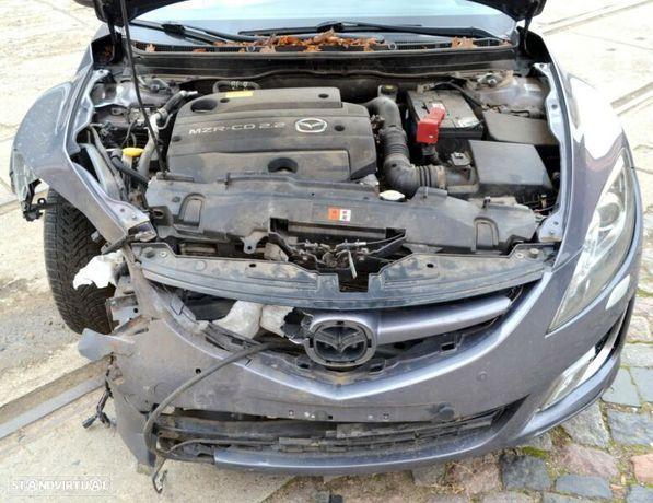Motor Mazda 6 CX-7 2.2 MZR-CD 163cv R2AA Caixa de Velocidades  + Motor de Arranque  + Alternador