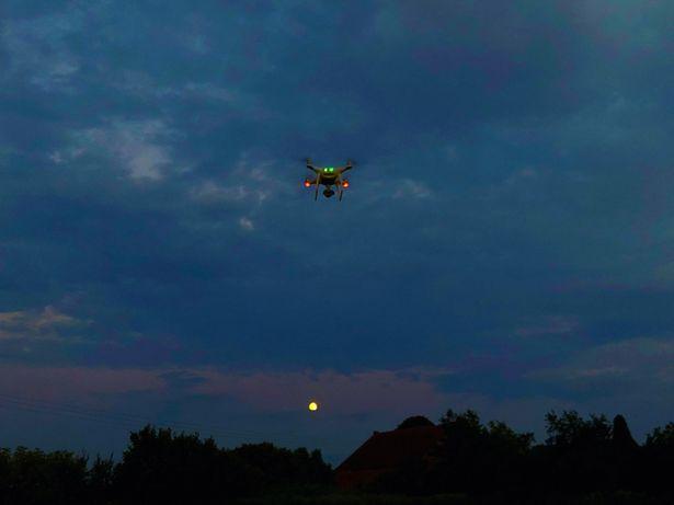 Szacowanie szkody łowieckie z Drona. Monitoring.