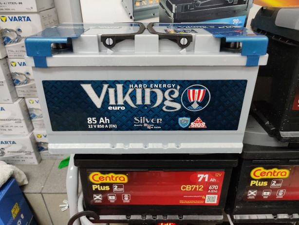 Akumulator Viking Silver 85Ah 850A P+ Dowóz Montaż Kraków F18 CA852