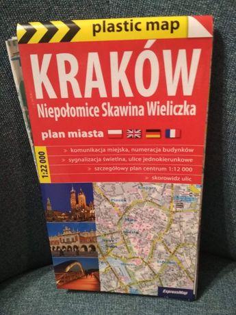 Plan miasta Kraków 1 : 22 000