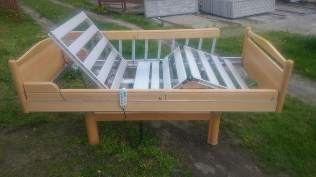 Łóżko rehabilitacyjne elektryczne domowe na pilota gwarancja