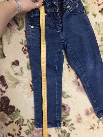 Джинсы и вильветовые штаны 2-3 года