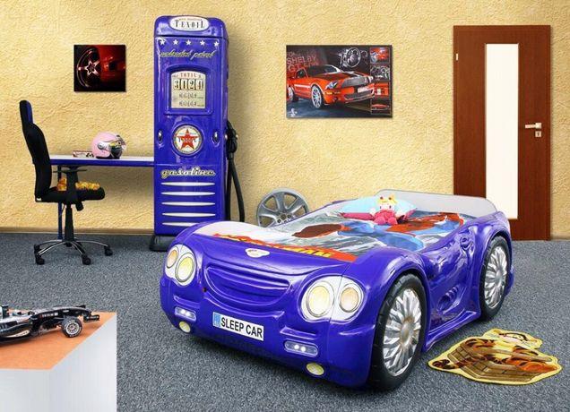 Łóżko samochód Sleep Car A wraz z szafa dystrybutorem paliwa POLECAM