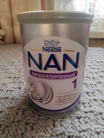 Смесь Nan 1 гипоаллергенная  новая