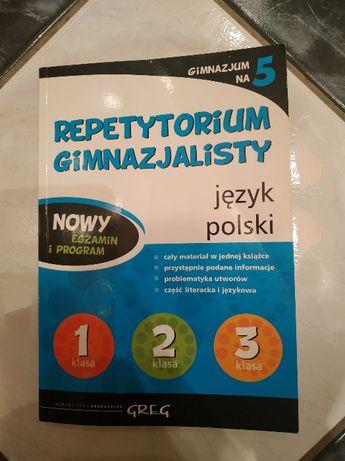 Repetytorium gimnazjalisty- język polski