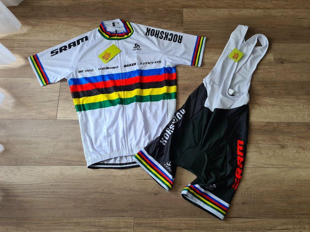 Strój kolarski rowerowy UCI S M L XL