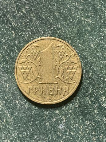 1 гривна 2001 года