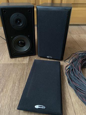 Колонки Gemix TF-611 2x18 Вт + длинный кабель