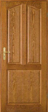 Drzwi wewnętrzne drewniane z ościeżnicą