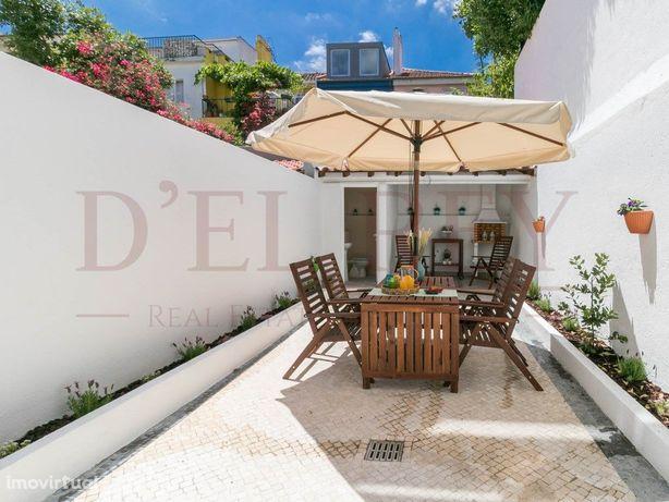 Moradia em Alvalade (Lisboa) com 4 quartos, barbecue, qui...