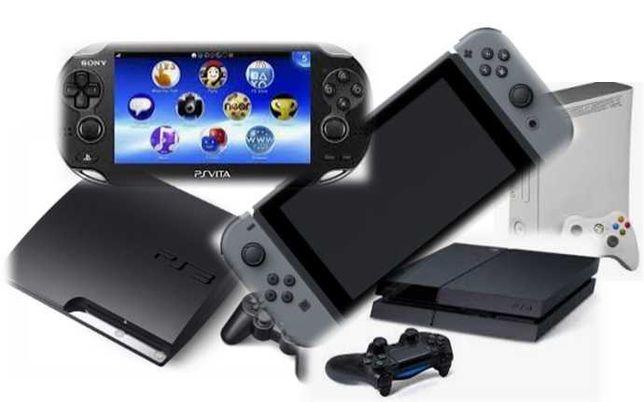 Reparação Videojogos, Consolas