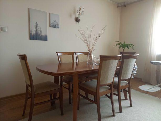 Sprzedam Stół z Krzesłami do jadalni lub do salonu
