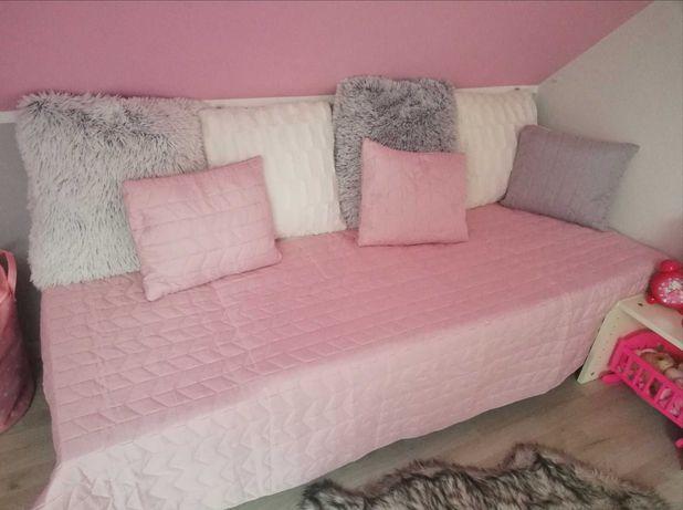 Kapa narzuta na łóżko dziecięce 135x200 nowa kolor lila fiolet, gruba