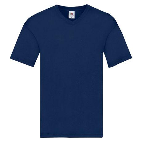 T-shirt męski w szpic FRUIT OF THE LOOM rozmiar S