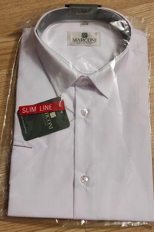 Koszulka męska MARCONI biała 40 178/182