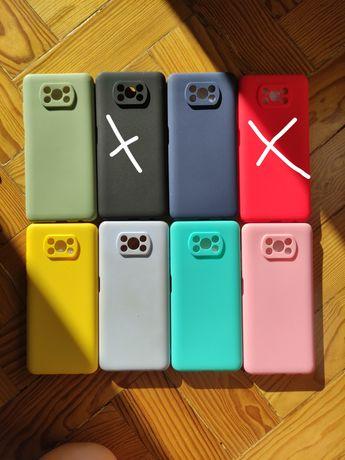 Capas Silicone Xiaomi POCO X3